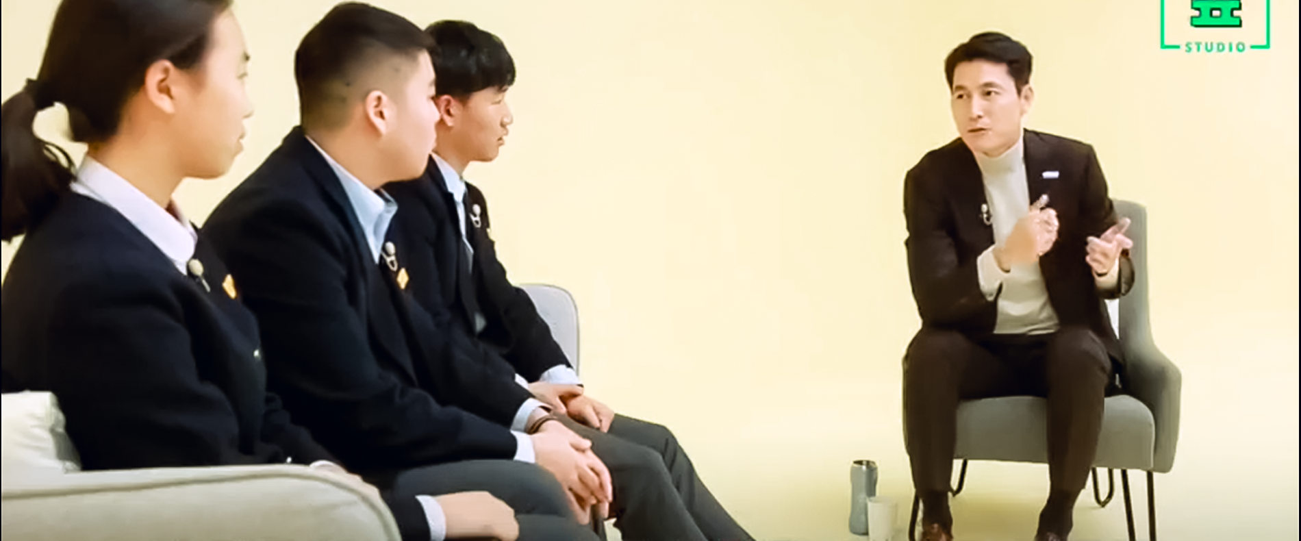 Goodwill Ambassador Jung Woo Sung with the Young Generation